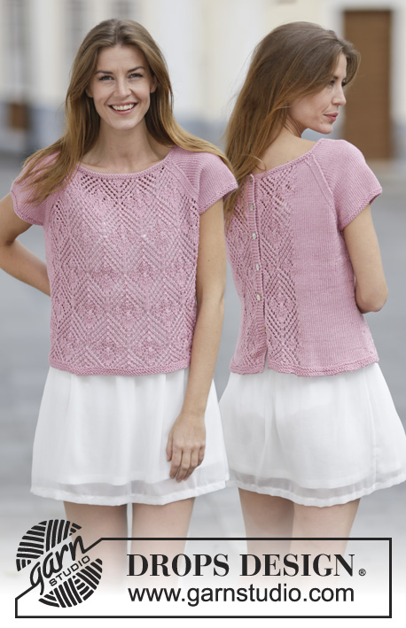 Summer Chic Drops 160 16 Knitted Drops Sweater With