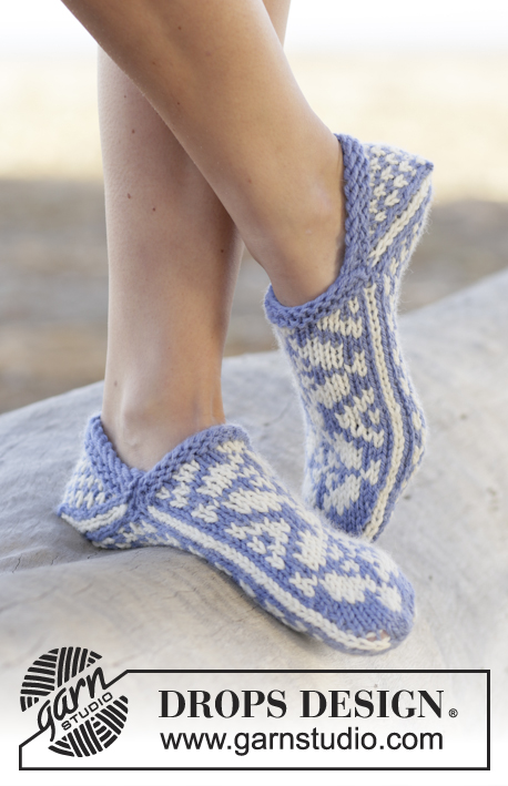 Alfie Drops 161 20 Knitted Drops Slippers With