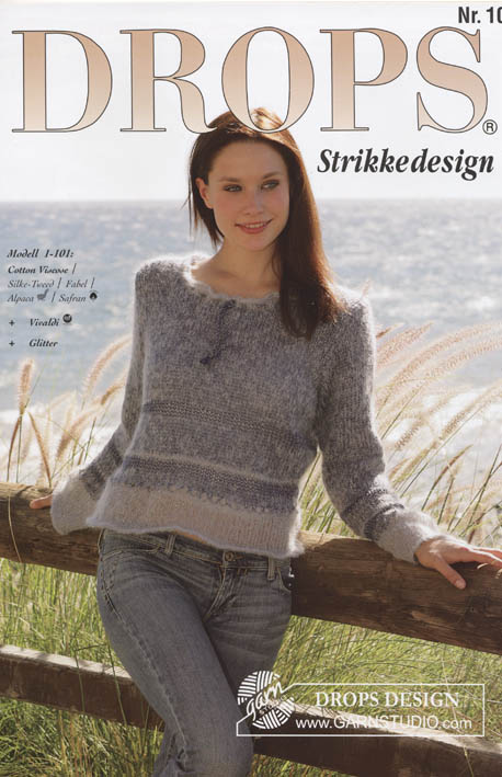 Exceptionnel Catalogue DROPS 101 - Free knitting & crochet patterns FX67