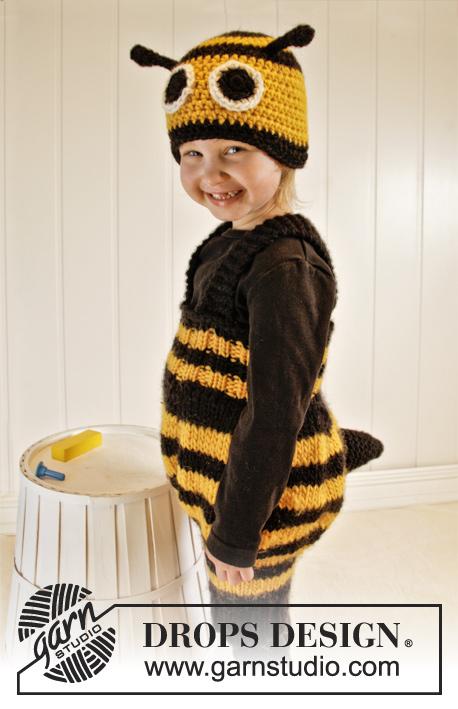 Bee Happy / DROPS Extra 0-1013 - Patrones de punto gratuitos por ...