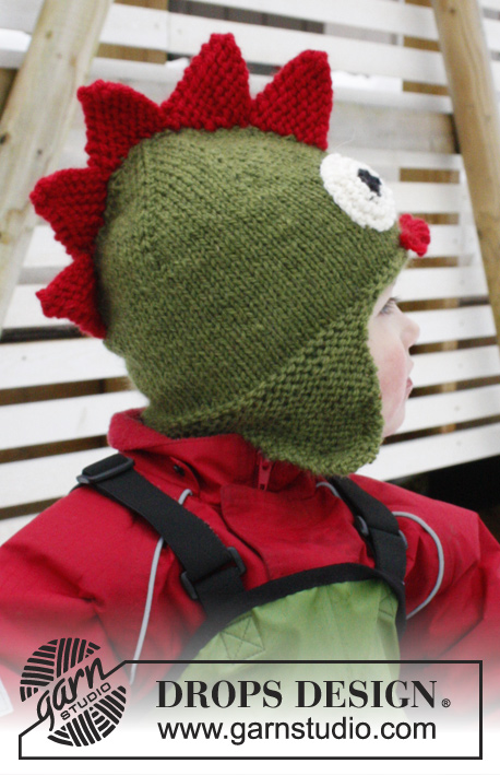 Rhaegal Drops Extra 0 1018 Free Knitting Patterns By Drops Design