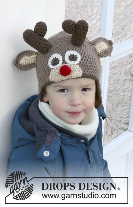 Little Rudolph / DROPS Extra 0-1049 - Patrones de ganchillo ...