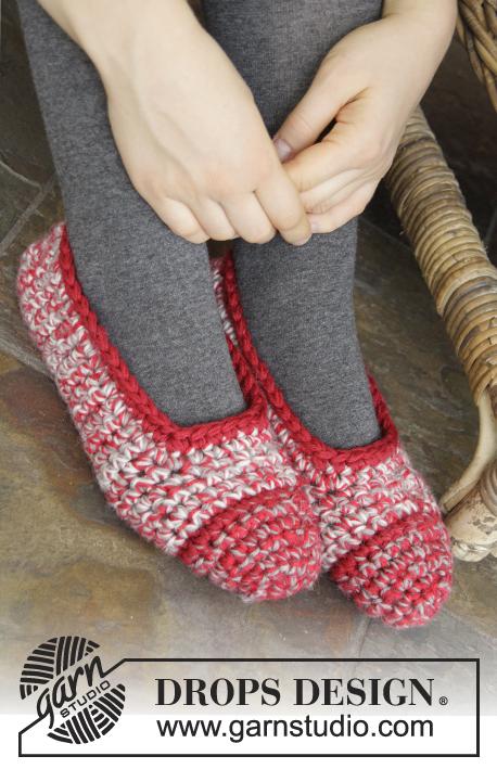 Merry Slippers Drops Extra 0 1067 Kostenlose Häkelanleitungen