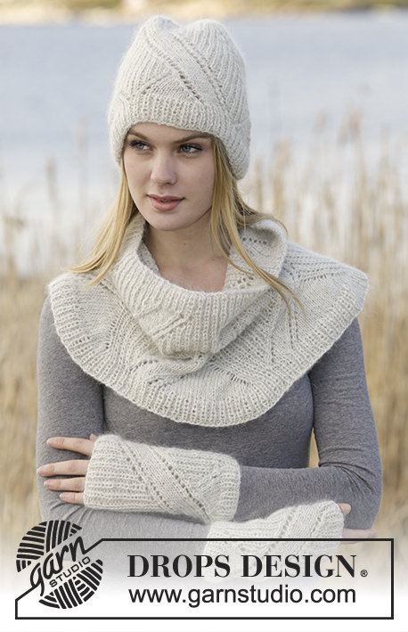Diamond Dust Drops Extra 0 1186 Free Knitting Patterns By Drops
