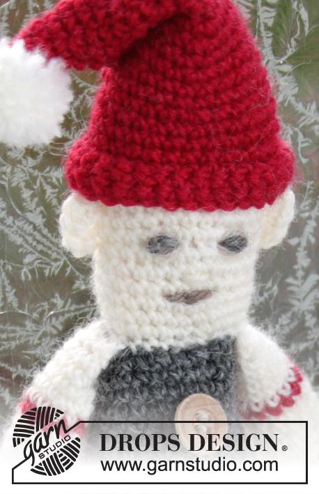 Santa\'s Buddy / DROPS Extra 0-1198 - Kostenlose Häkelanleitungen von ...