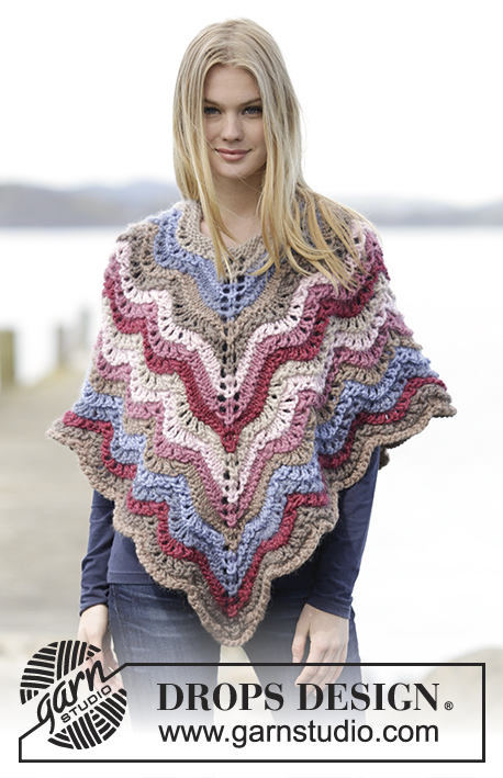 Double Rainbow Drops Extra 0 1220 Free Knitting Patterns By