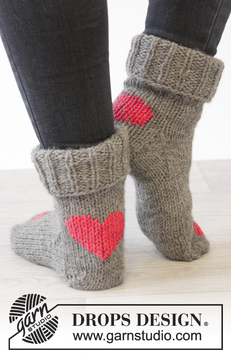 Heart Dance Drops Extra 0 1223 Free Knitting Patterns By Drops