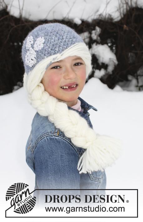 Princess Snowflake / DROPS Extra 0-1226 - Patrones de ganchillo ...