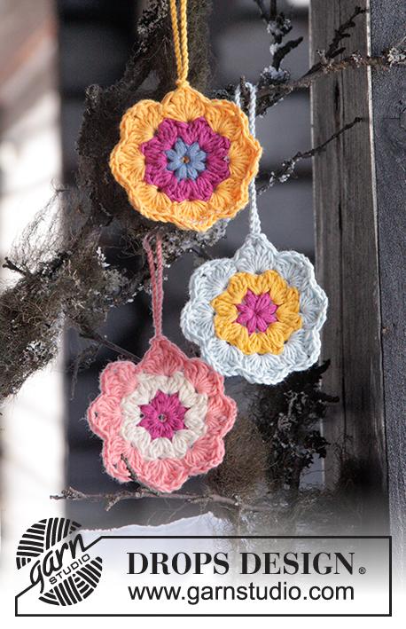 Easter in Bloom / DROPS Extra 0-1246 - Kostenlose Häkelanleitungen ...