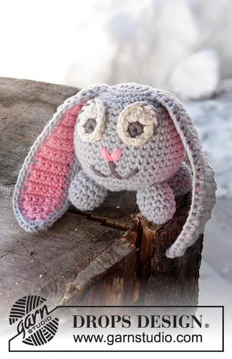 Lapin de Pâques amigurumi modèle gratuit au crochet (tuto gratuit ... | 709x458