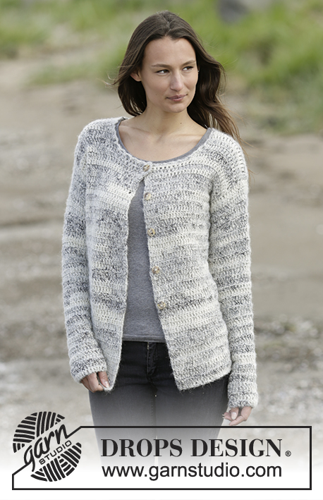 Irish Cloud Cardigan / DROPS Extra 0-1255 - Kostenlose ...