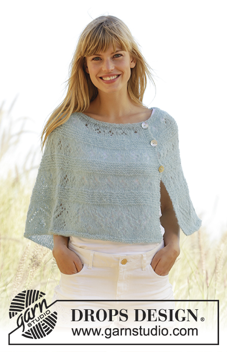 Summer Stream / DROPS Extra 0-1273 - Free knitting patterns by DROPS ...