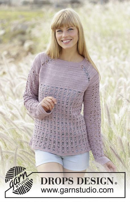 Sweet Indigo Drops Extra 0 1295 Modèles Crochet Gratuits De