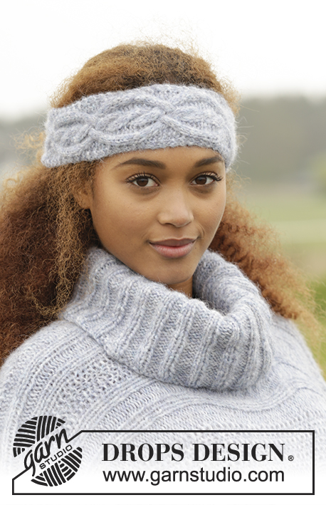 Alanna Headband Drops Extra 0 1320 Free Knitting Patterns By
