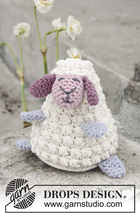 Easter Lamb Drops Extra 0 1376 Free Crochet Patterns By Drops Design