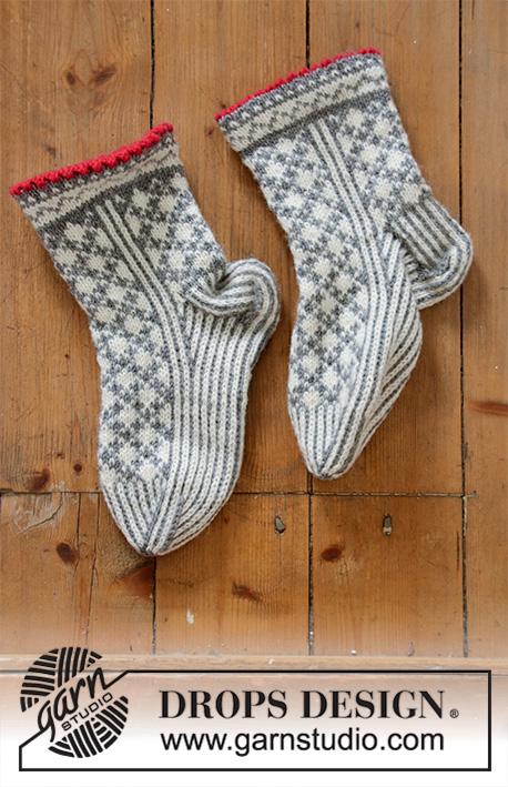 13cfba11cf4 Tip Toe Santa / DROPS Extra 0-1433 - Gratis strikkeopskrifter fra DROPS  Design