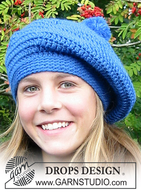 DROPS Extra 0-403 - Crocheted DROPS Beret
