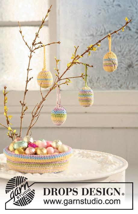 Candy Eggs / DROPS Extra 0-500 - Patrones de ganchillo gratuitos por ...