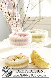 Corbeilles de Pâques crochetées