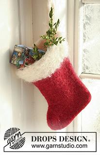 Patrones navideños tejidos y fieltrados 510-1