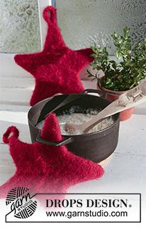 Patrones navideños tejidos y fieltrados 529-1