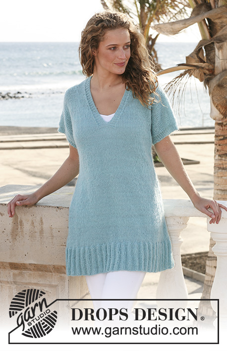 Havbris / DROPS Extra 0-538 - Free knitting patterns by DROPS Design