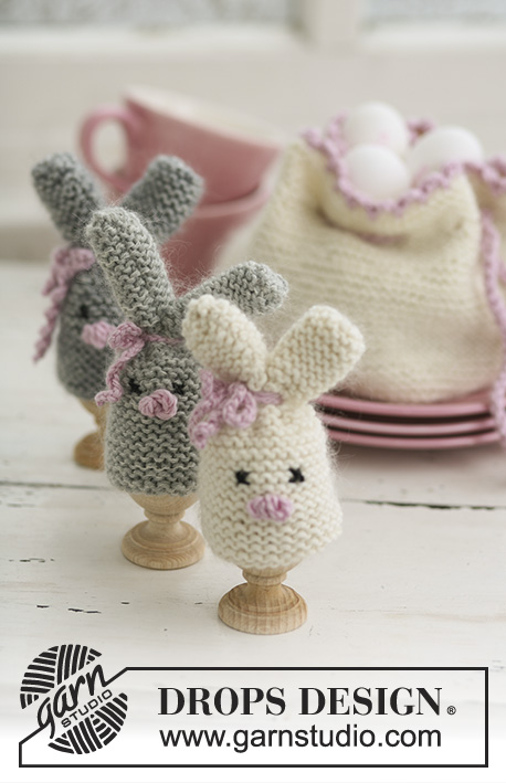 Cozy Bunnies / DROPS Extra 0-545 - Free knitting patterns by DROPS ...
