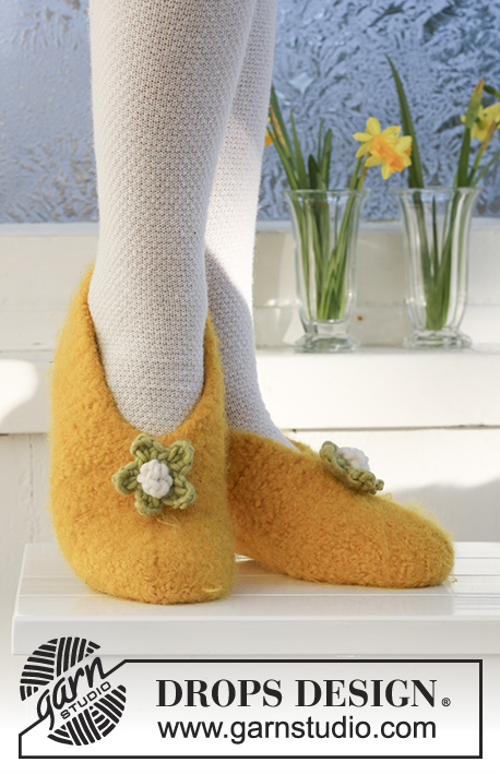 Daffodil Dancers Drops Extra 0 546 Free Knitting Patterns By