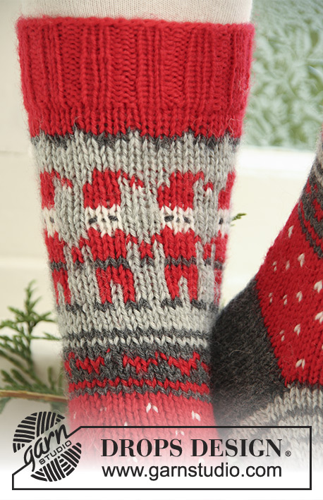 Free Knitting Patterns Drops : Dancing Elves / DROPS Extra 0-722 - Free knitting patterns by DROPS Design