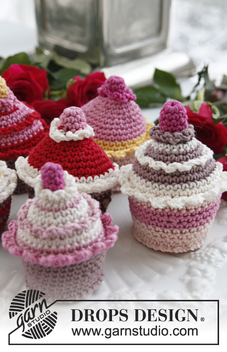 Haakpatroon Cupcake