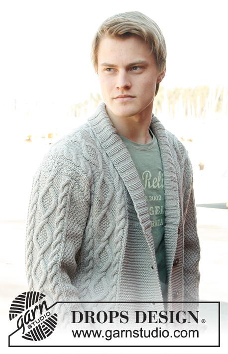 Rambling Man / DROPS Extra 0-850 - Free knitting patterns by DROPS ...
