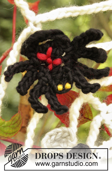 Black Widow Drops Extra 0 854 Gratis Haakpatronen Van Drops Design