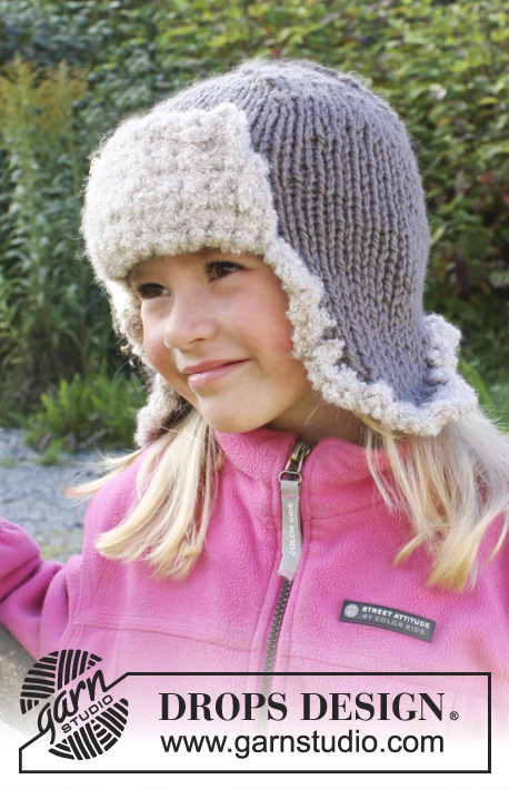 Ushanka Drops Extra 0 975 Free Knitting Patterns By Drops Design