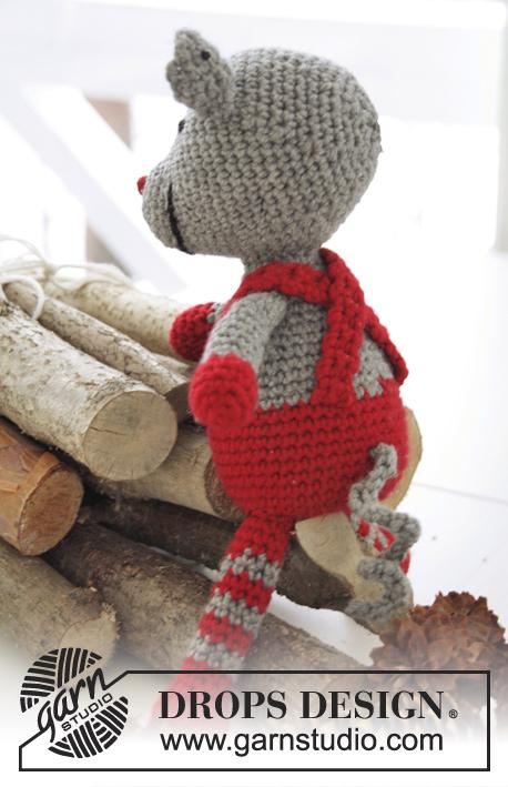 Stuart Little / DROPS Extra 0-990 - Free crochet patterns by