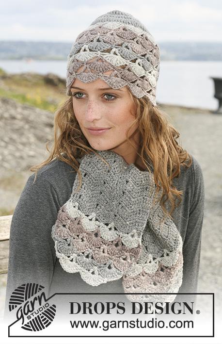 3b08cc2b444 Winter Fanfare   DROPS 108-26 - Free crochet patterns by DROPS Design