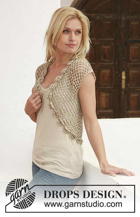 Golden Roses / DROPS 111-25 - Free crochet patterns by DROPS Design