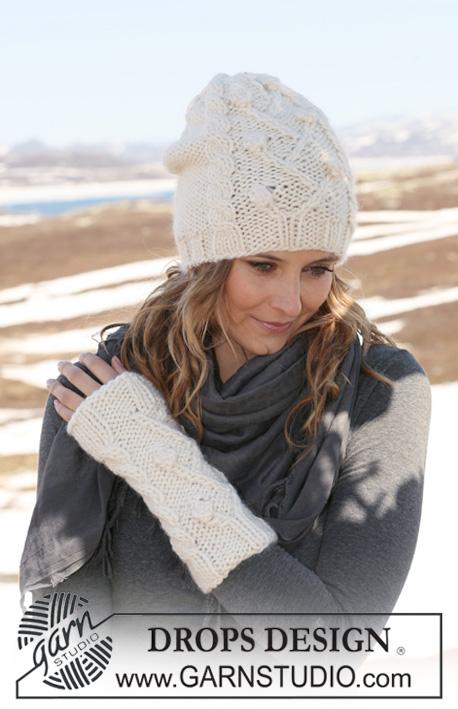 Вязаные теплые шапки для девочек 8 9