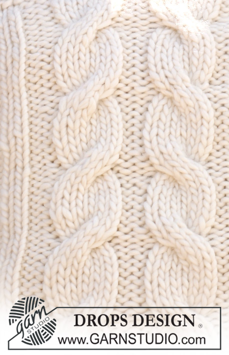 Drops Patterns Knitting : Three Across / DROPS 117-53 - Free knitting patterns by DROPS Design