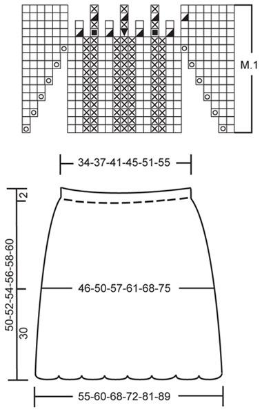 спідниця - схема