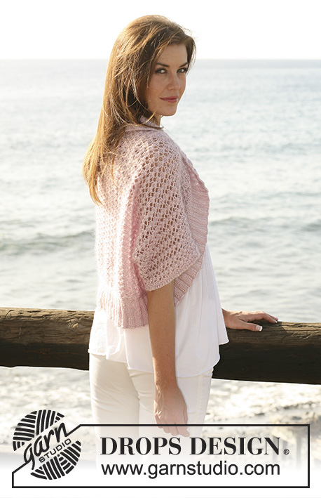 Sea Blush Drops 119 21 Free Knitting Patterns By Drops Design