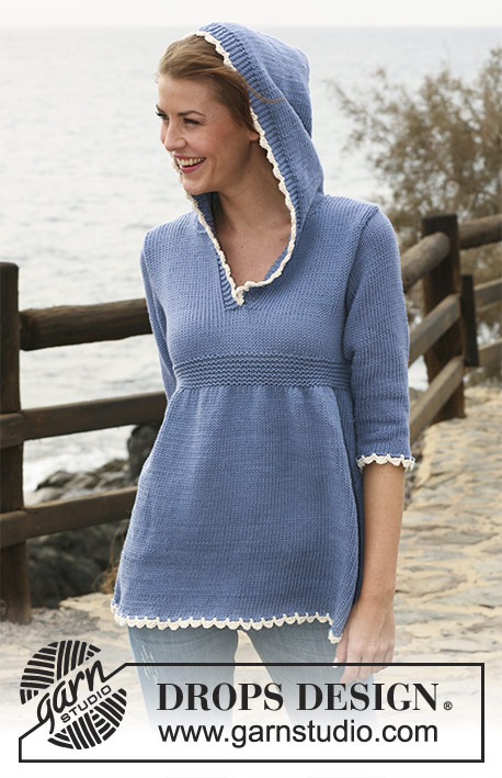 Jane Austen / DROPS 120-1 - Free knitting patterns by DROPS Design