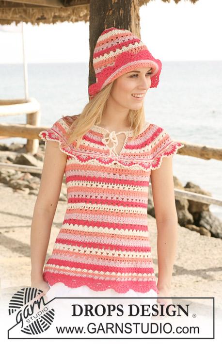 87d4bc916 Summer Sorbet   DROPS 120-38 - Free crochet patterns by DROPS Design