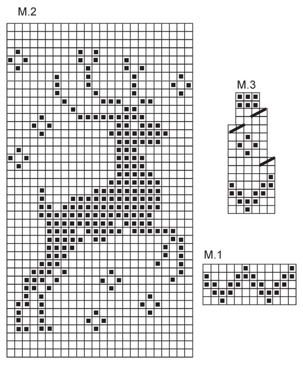 Reindeer Knitting Pattern Chart : Pin it