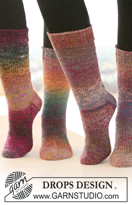 Autumn Steps / DROPS 122-23 - Free knitting pattern by DROPS Design