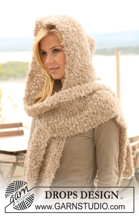 Sjaal met capuchon breien