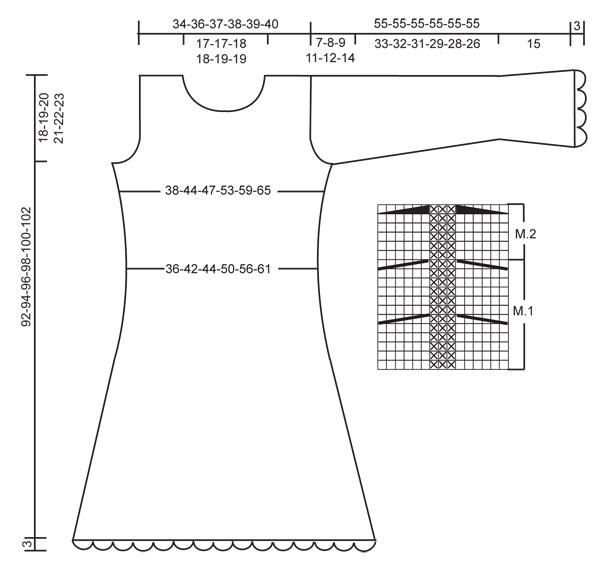 Сукня з обв'язкою гачком