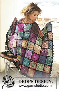Drops design and fabel blanket