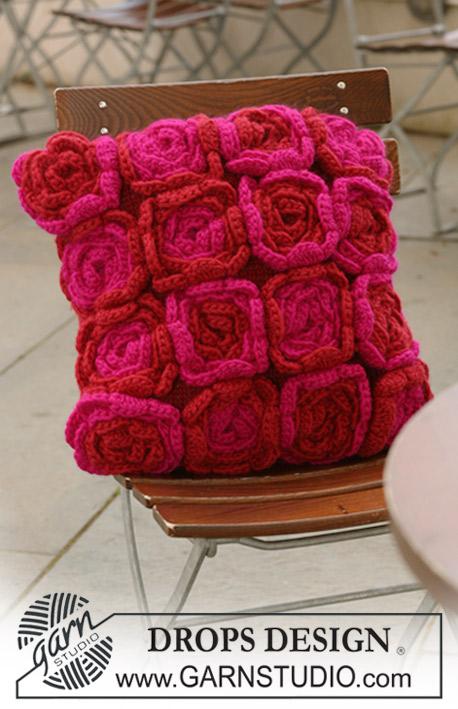 Dream Of Roses Drops 124 6 Modeles Tricot Gratuits De Drops Design