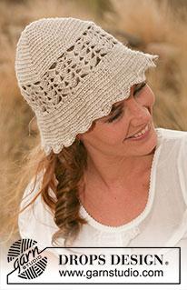 müts - Heegeldatud DROPSi lehvikumustriga müts 127-43 43-1