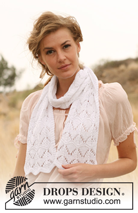 Crystal Waterfall Drops 127 9 Free Knitting Patterns By Drops Design